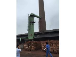 砖厂脱硫塔使用现场