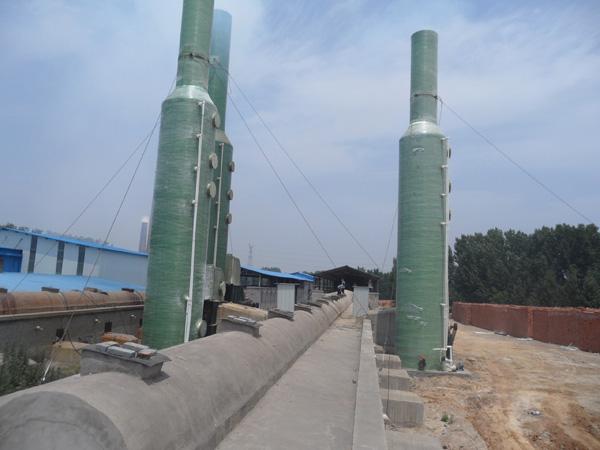 河南新乡三台脱硫使用现场